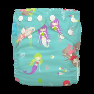 Charlie Banana egyméretes zsebes pelenka 2 betéttel - Mermaid JADE