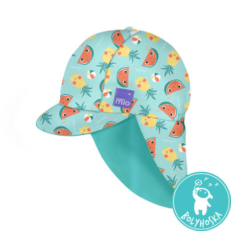 Bambino Mio Gyermek UV szűrős fürdő sapka, UV 50+, méret S/M, Tropical
