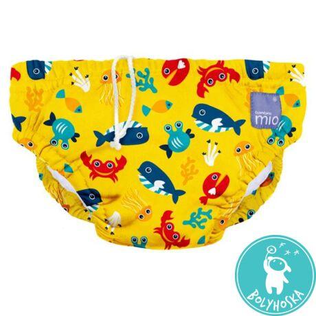 Bambino Mio úszópelenka Deep sea yellow L 9-12 kg