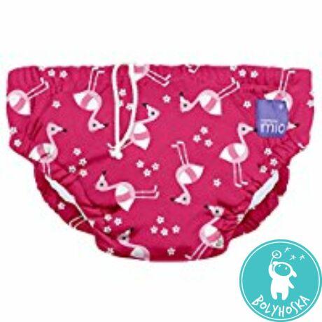 Bambino Mio úszópelenka Pink flamingo M 7-9 kg