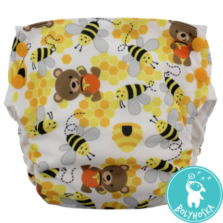 Blueberry side snap simplex BEARS AND THE BEES