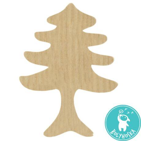 Natúr fa fenyőfa