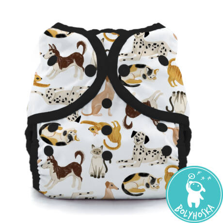 Thirsties Duo Wrap mosható pelenkakülső (8-18kg) Pawsitive pals patentos