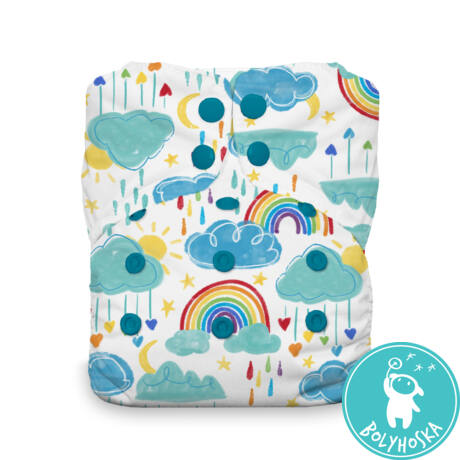 rainbow stay dry natural aio