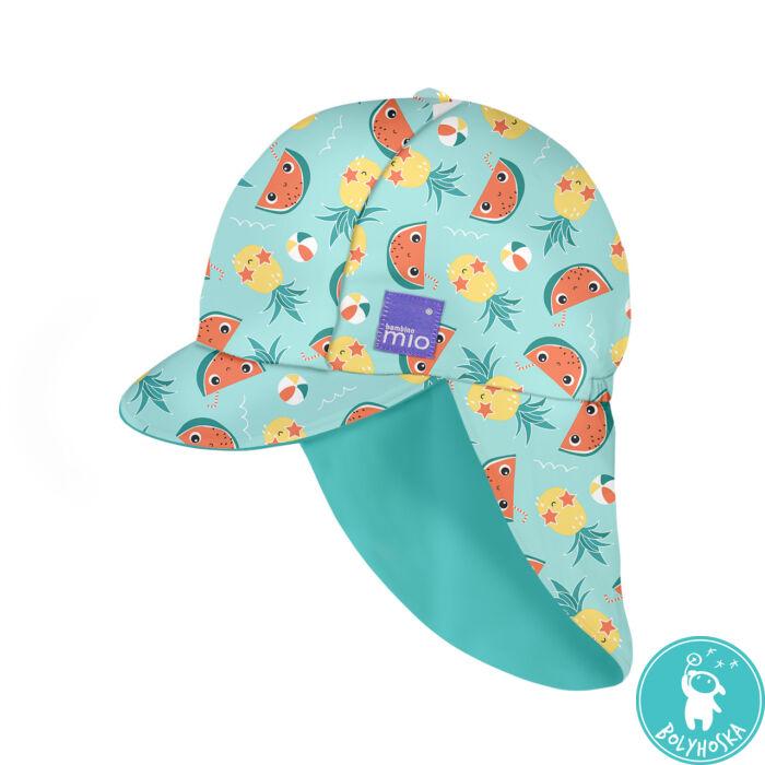 Bambino Mio Gyermek UV szűrős fürdő sapka, UV 50+, méret L/XL, Tropical