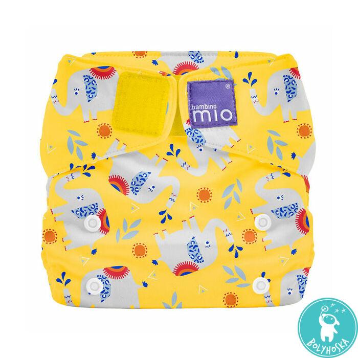 Bambino Mio MioSolo All-In-One ELEPHANT STOMP egyméretes mosható pelenka